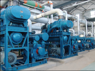 Energy-saving vacuum system for power plant