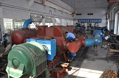 China largest vacuum pump test bench